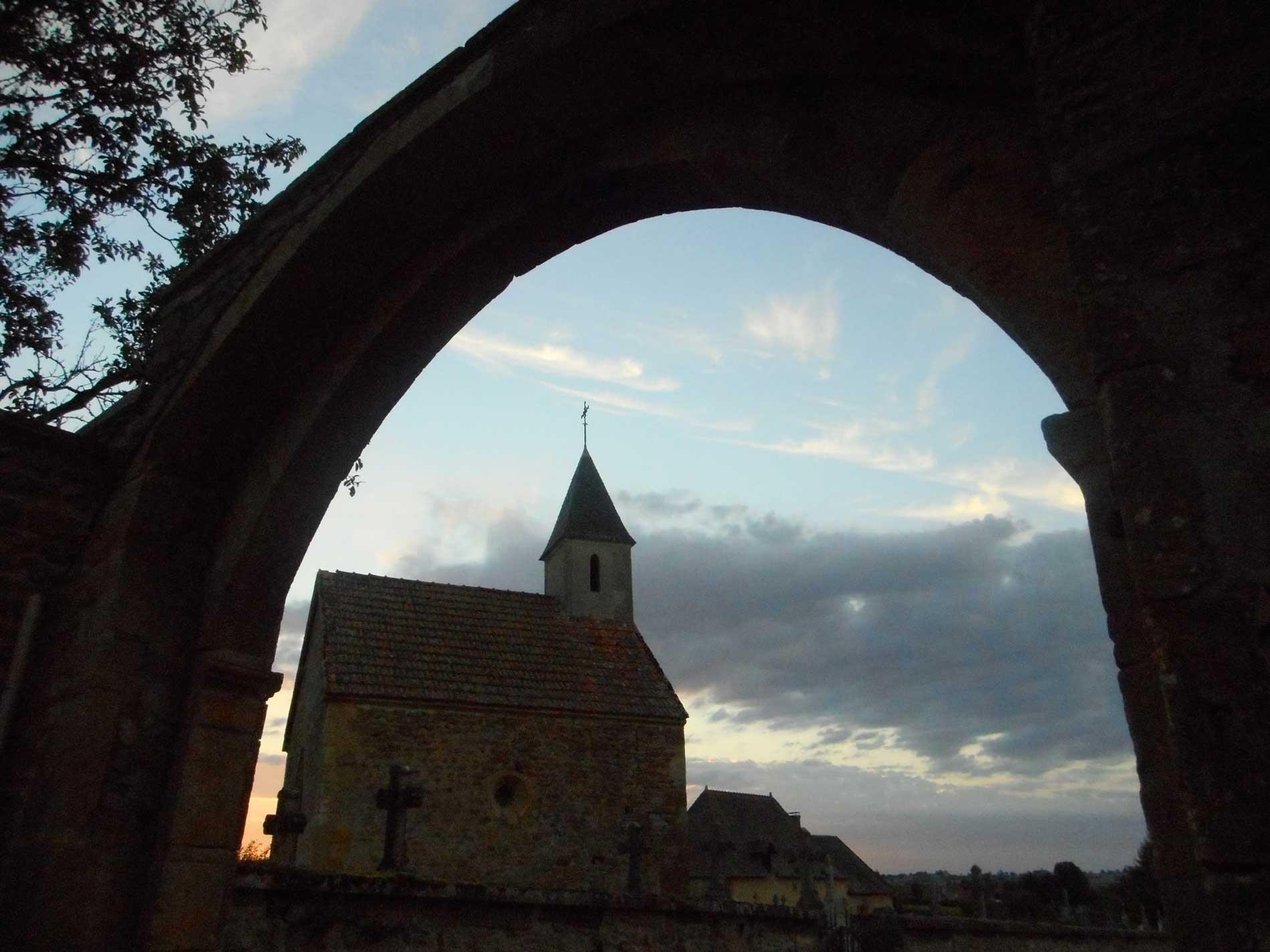 Ferme auberge des Collines - Extérieur - Eglise